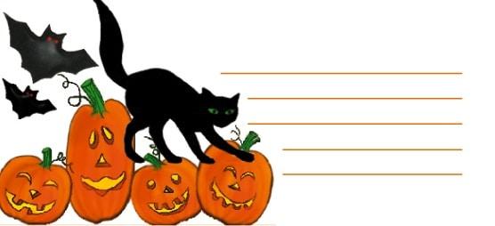 Un biglietto per Halloween