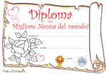 Diploma di migliore nonna