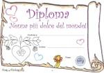 Diploma di nonna più dolce