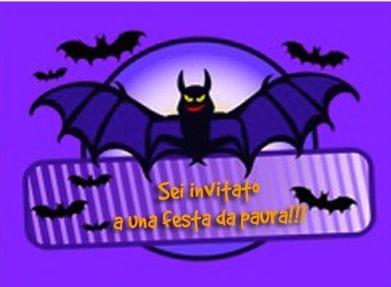 Invito ad una festa da paura!