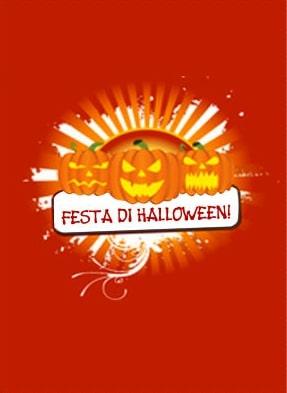 Biglietto Halloween da stampare