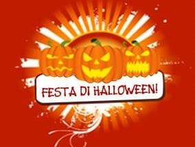 Biglietto per una festa di Halloween