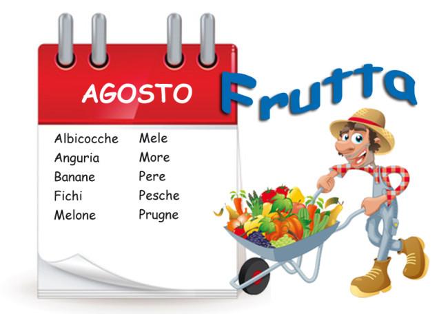 La frutta di agosto cose per crescere for Calendario concimazione agrumi