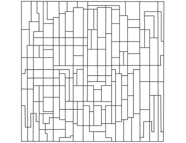 Colora i rettangoli e i quadrati