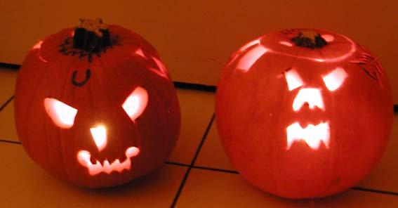 Preparare un zucca di Halloween in inglese