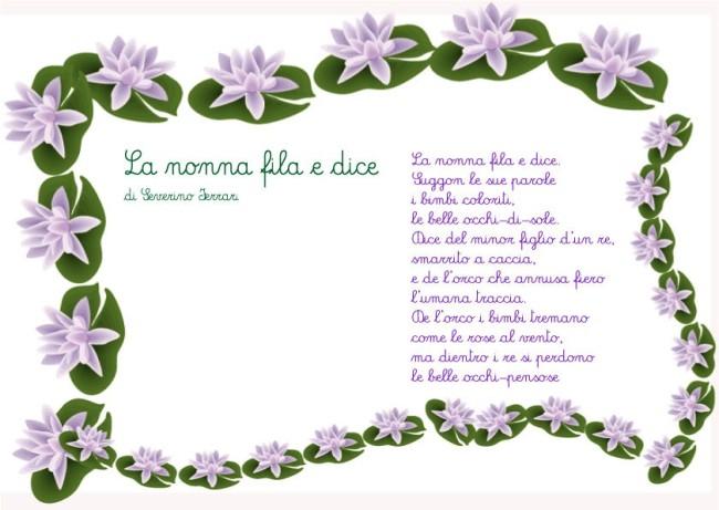 Célèbre Poesie per la nonna - Poesie e filastrocca per bambini GJ95