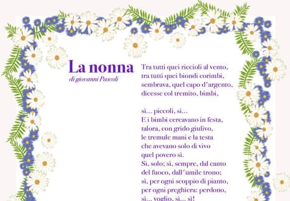 La nonna: di Giovanni Pascoli