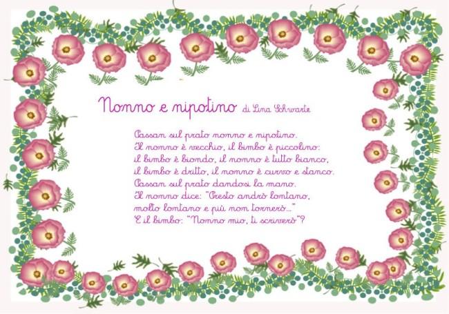 Famoso Poesie per la nonna - Poesie e filastrocca per bambini BQ08