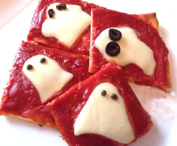 pizze fantasma per bambini