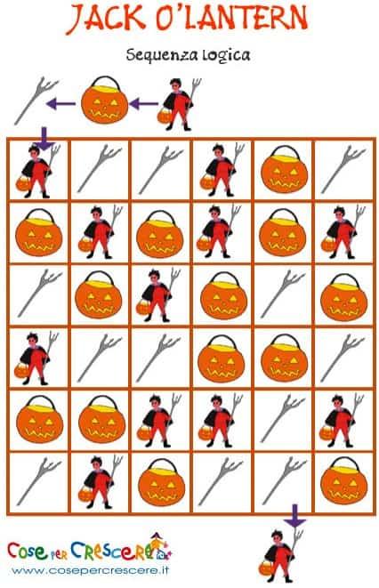 Gioco di Halloween per bambini