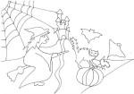 Disegno della notte di Halloween