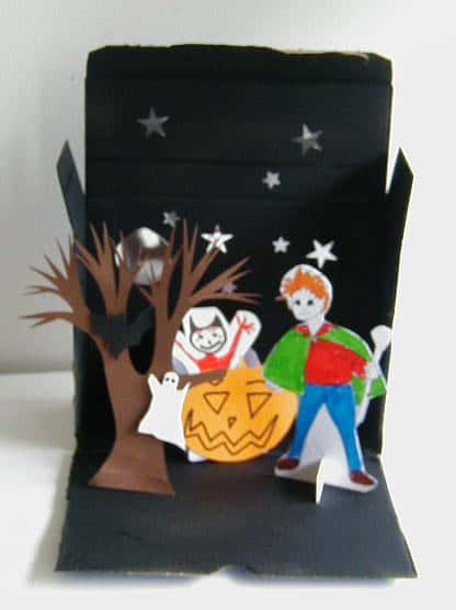 Teatrino di Halloween fai da te