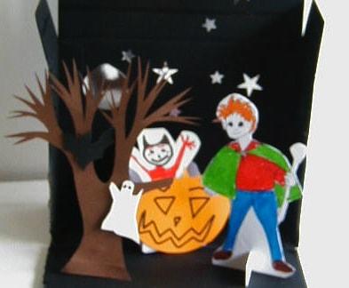 Teatrino di Halloween