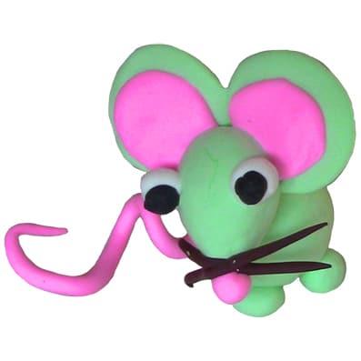 Modellare un topolino