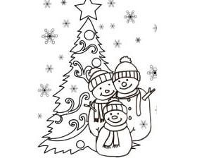 Biglietto d'auguri di Natale e dell'anno nuovo