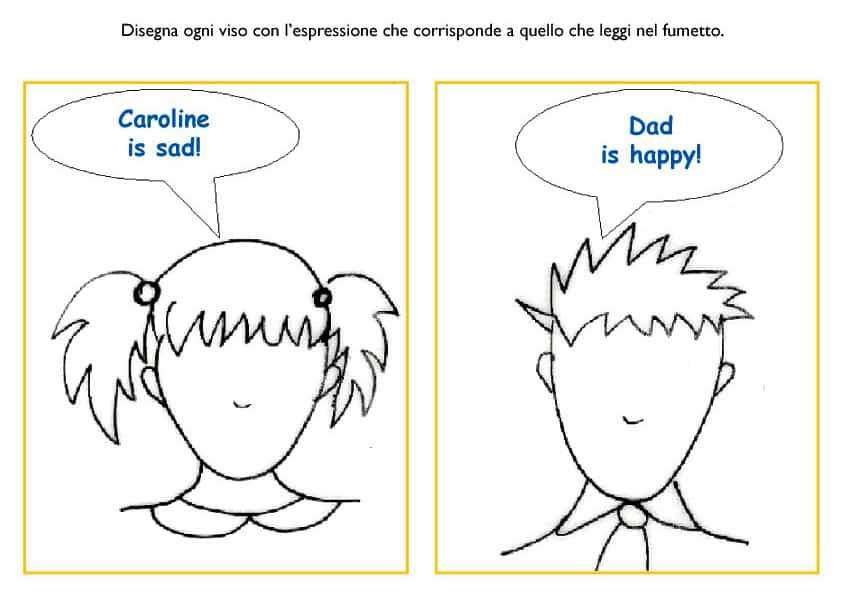 Le emozioni e i sentimenti in inglese