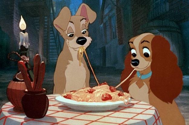 Spaghetti e polpette: il piatto di Lilli e il Vagabondo