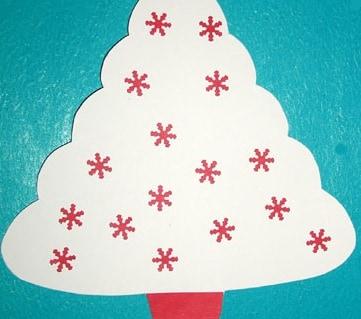Un albero di Natale per un augurio