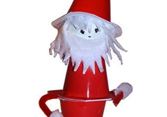 Babbo Natale dei 3 vasetti