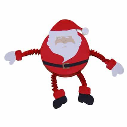 Un Babbo Natale tutto tondo
