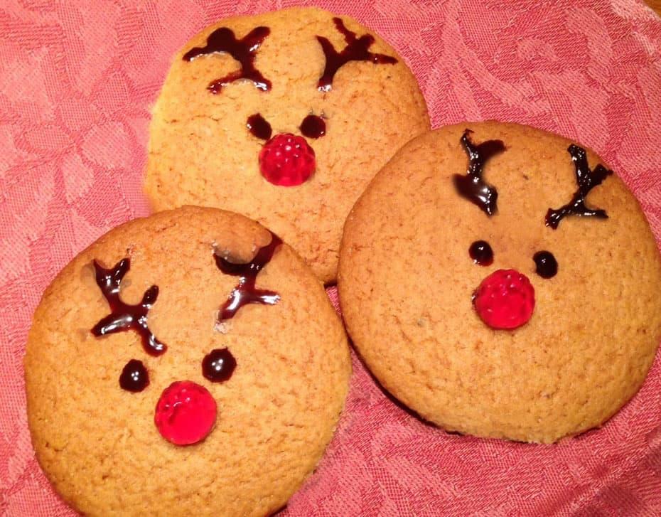 biscotti di natale rudolph: ricetta