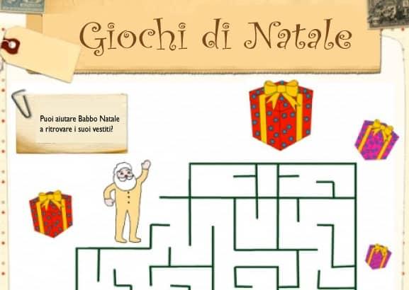 Labirinto dei vestiti di Babbo Natale