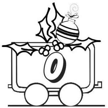 Il trenino dei numeri di Natale