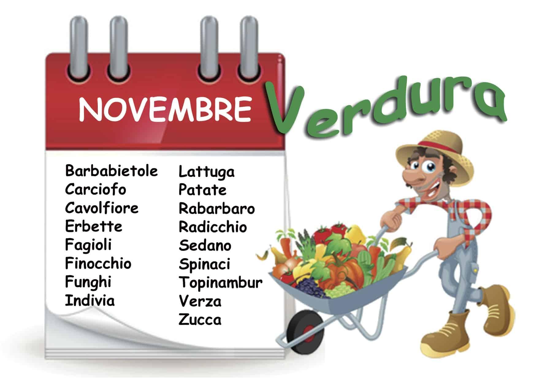 Le verdure di novembre