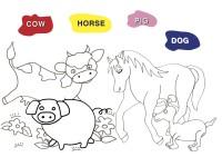 animali inglese