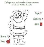 Lettera Di Auguri Di Natale In Inglese.I Vestiti Di Babbo Natale In Inglese Cose Per Crescere