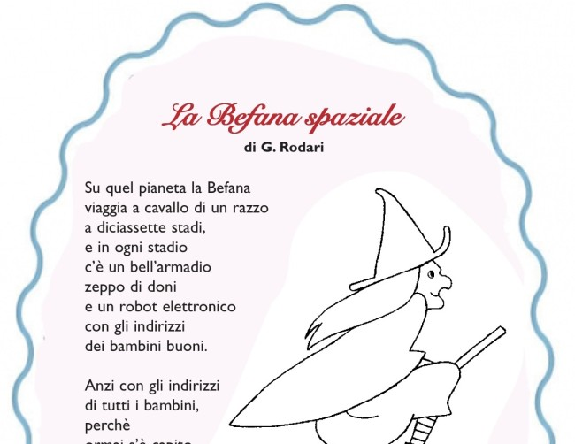 Famoso La Befana spaziale di Gianni Rodari ZT15