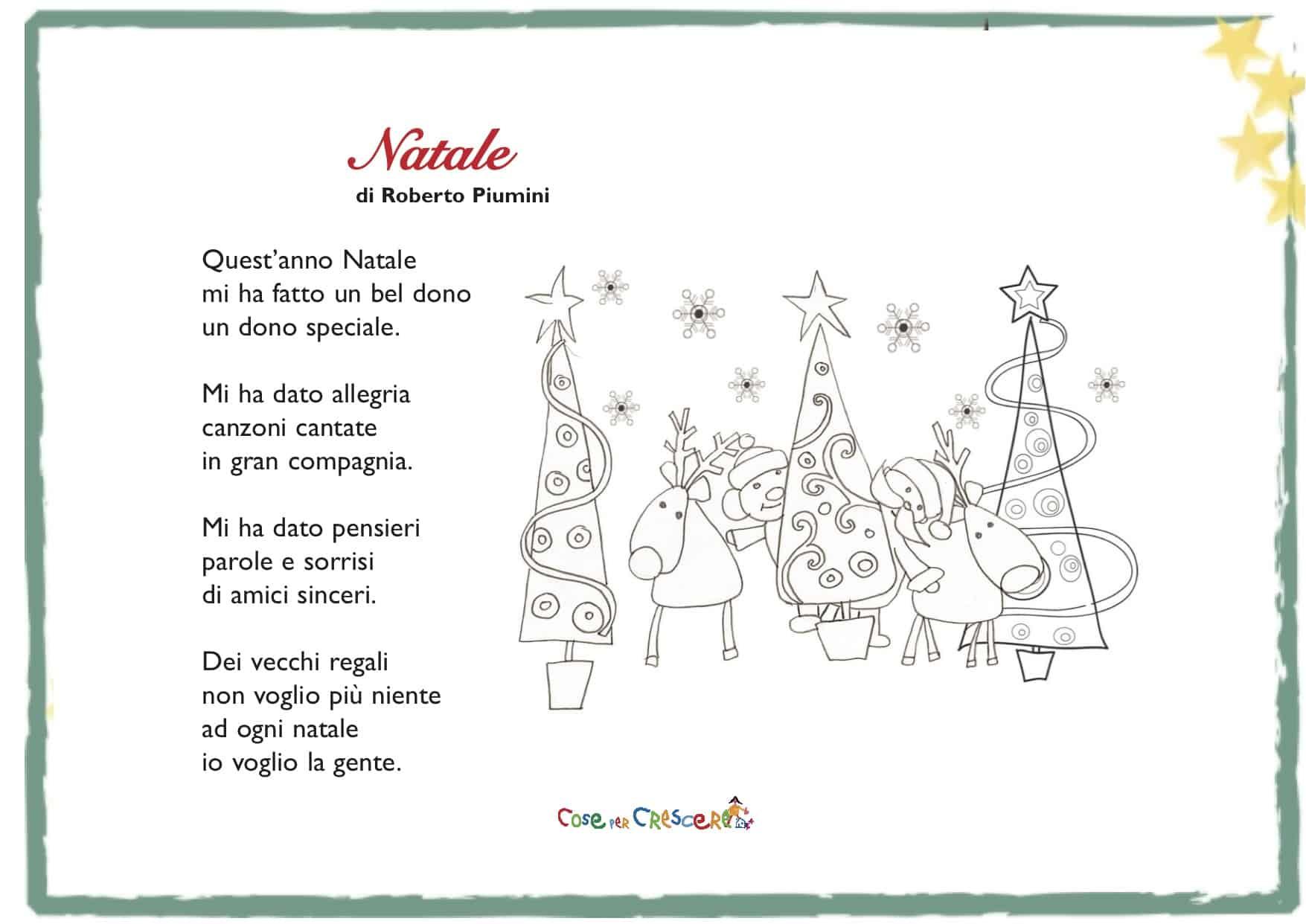 Poesie Di Natale Facili.Natale Poesia Di Roberto Piumini