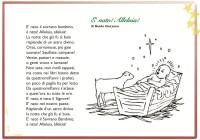 Poesie Di Natale Per Bambini Asilo.Poesie Per Bambini Filastrocche E Poesie Per I Bambini Da Stampare
