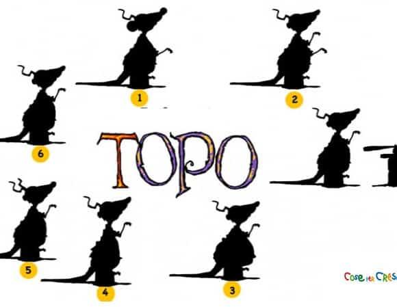 Trova l'ombra di Topo!