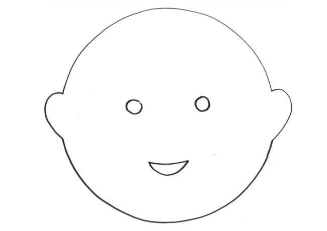 bambino maschera