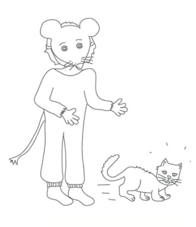 bambino topo