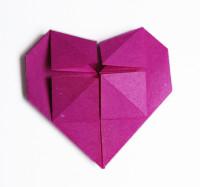 cuore origami