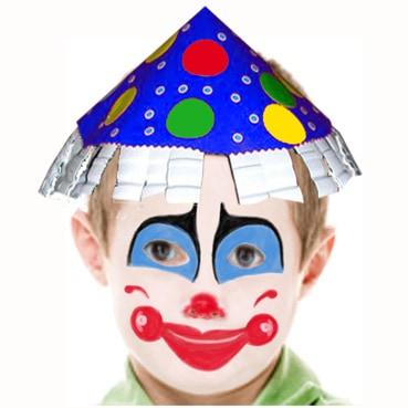 Trucco da pagliaccio per bambini - Cose Per Crescere 7406a2a3d09d