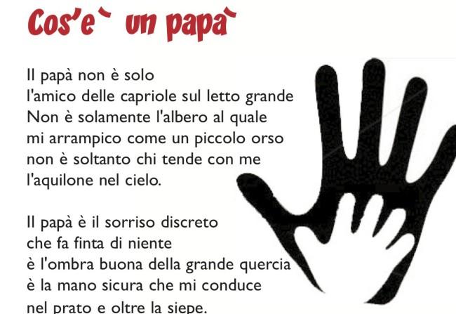 Frasi E Poesie Per La Festa Del Papà Scuola Primaria E Dellinfanzia