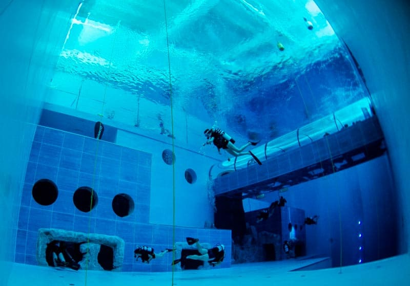 E' italiana la piscina più profonda del mondo