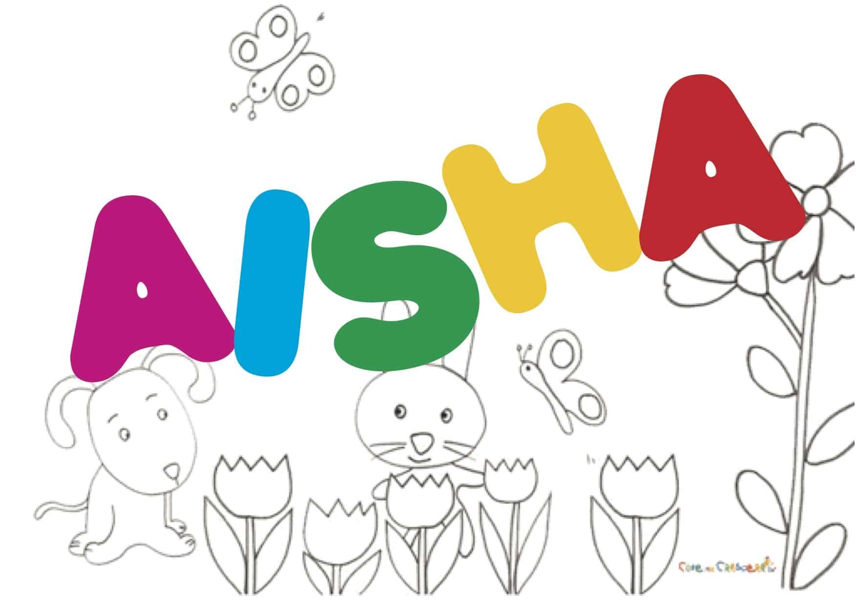 Aisha significato