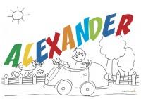 ALEXANDER sig