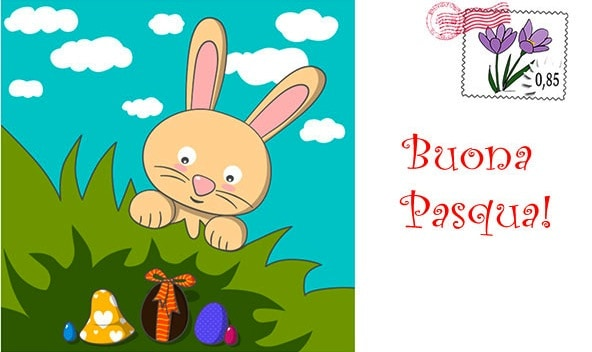 Auguri di Buona Pasqua da stampare