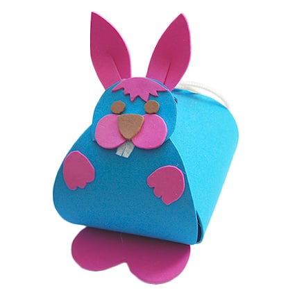 Portaconfetti coniglio