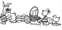 coniglio uova pasqua