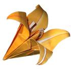 Fiore di carta: il giglio