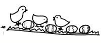 pulcini e uova