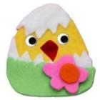 Pulcino di Pasqua in pannolenci