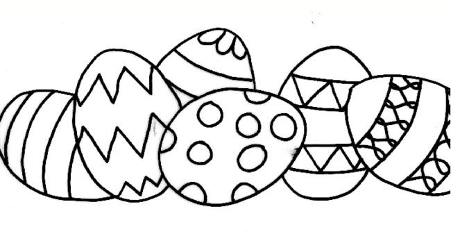 Uova di pasqua da colorare cose per crescere for Disegni da colorare di pasqua
