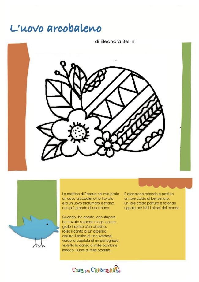 L 39 uovo arcobaleno poesia di pasqua for Poesia di pasqua per bambini